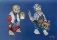 Illustratief Mannetjes 1 Blauw 1992